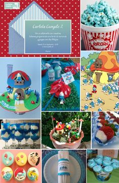 Invitaciones infantiles, invitaciones para fiestas infantiles, cumpleaños de pitufos, fiesta de pitufos, ideas para cumpleaños de Pitufos Para Más Info Visita: www.LaBelleCarte.com Online birthday kids invitations, online birthday kids cards, birthday kids ideas, smurfs party, smurfs birthday, smurfs ideas For More Info Visit: www.LaBelleCarte.com/en