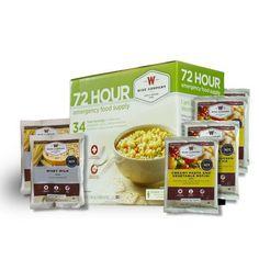 72 Hour Emergency Food Supply