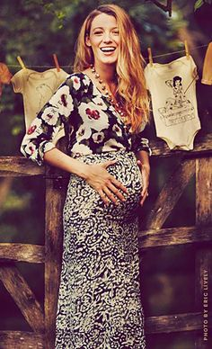 Modern Mommies: Congratulations are in order! - Blake Lively Looks Adorable With Huge Baby Bump During Baby Shower - #preserveblog #bohomama  @preserve_us