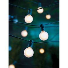 Globe lights — string of 25 for $13 at Target
