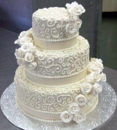 pastel 361x400 Imprime tu propio estilo en el pastel de bodas
