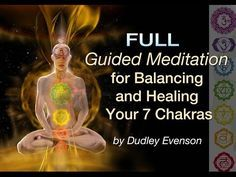 """Guided Meditations for Balancing and Healing Your 7 Chakras From the album """"Chakra Meditations & Tones"""" by Dudley and Dean Evenson. Buddhist Meditation Techniques, Chakra Balancing Meditation, Meditation For Health, Meditation Scripts, Meditation Benefits, Meditation For Beginners, Healing Meditation, Meditation Practices, Chakra Healing"""