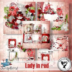 Lady in red - Full Pack