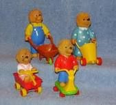 Bernstein Bears - another of my favorite McDonald's Happy Meal toy collections