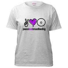 Cute breastfeeding shirt