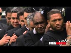 Jonah Lomu's former teammates and Fans perform emotional final haka Full