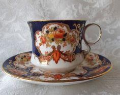 Demitasse Cup Saucer Demi Royal Albert Crown China Imari Derby Heirloom | eBay by helen