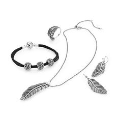 The lightness and elegance of the feather has inspired a series of spectacular jewelry pieces embellished with multiple cubic zirconia stones - all set by hand. #PANDORA ShopMedawar.com