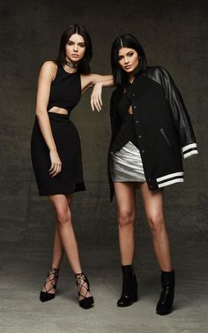 See All The Looks From Kendall and Kylie Jenner's Topshop Holiday Collection | @StyleCaster