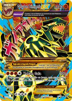 Primal Groudon EX (Shiny Full Art) - XY - Ancient Origins, Pokemon - Online Gaming Store for Cards, Miniatures, Singles, Packs & Booster Boxes Groudon Pokemon, Hama Beads Pokemon, Pokemon Online, Pikachu, Charizard, Pokemon Dragon, Cool Pokemon Cards, Rare Pokemon Cards, Bologna