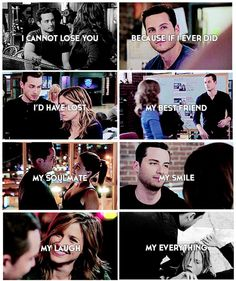 """""""I cannot lose you..."""" - Halstead and Lindsay"""