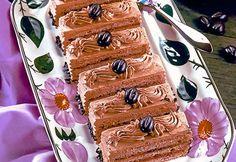 Brabanter Schnitten » Kochrezepte von Kochen & Küche Food Blogs, Desserts, Mocha, Almonds, Cooking Recipes, Backen, Deserts, Dessert, Postres