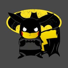 Detective Pikachu, Pikachu Deadpool, and Ash and Pikachu t-shirts featuring all of your favorite Pokemon characters. All designs created by independent artists and Pikachu fans. Pikachu Pikachu, Deadpool Pikachu, Cool Pokemon Wallpapers, Cute Pokemon Wallpaper, Animes Wallpapers, Pokemon Mashup, Pokemon Fan Art, Cute Cartoon Drawings, Cute Animal Drawings