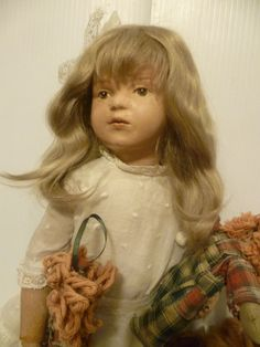 Antique 1911 Schoenhut Wood Art Doll Character by suburbantreasure