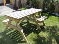 Inclusive Picnic Benches from Inclusive Furniture.