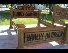 Harley Davidson Bed Frame