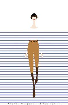 Dénichées sur Pinterest, les illustrations hypnotiques de ce jeune étudiant du Salvador déclinent en 2 volumes les motifs phares de l'univers de la mode.