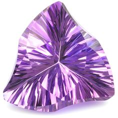 Fantasy concave cut Brazilian Amethyst weighing 5.440 cts