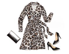 Wrap of the Moment: Cheetah Floral | World of DVF
