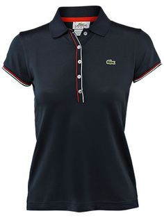 Classic Lacoste Polo Shirt.  #tennis Lacoste Clothing, Lacoste Polo Shirts, Polo T Shirts, Tennis Gear, Tennis Clothes, Summer Outfits, Casual Outfits, Fashion Outfits, Polo Shirt Girl