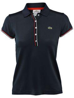 Classic Lacoste Polo Shirt.  #tennis
