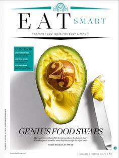 Women's Health magazine design