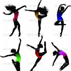 dancer silouettes