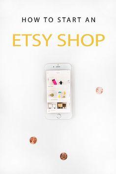 How To Start An Etsy Shop | PINKPOT | Bloglovin'