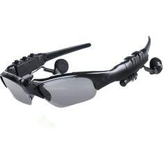 4c83dbbcb837 Bluetooth 4.1 Smart Bluetooth Glasses Stereo Music Calls Intelligent Voice  Camera Remote Selfie Sunglasses. Ipad