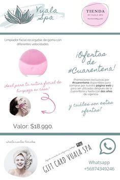 Limpiador Facial Recargable Con Diferentes Velocidades Superga, Face Cleanser