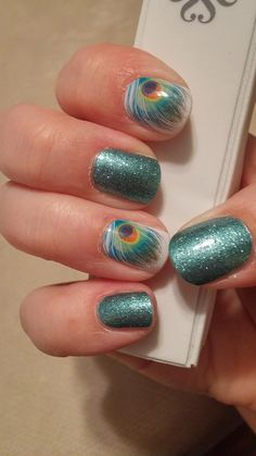 Shake your tail feather and Jaded http://maisielynn.jamberrynails.net/shop