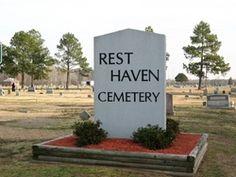 Rest Haven Cemetery  Wilson (Wilson County)  Wilson County  North Carolina  USA  Postal Code: 27893