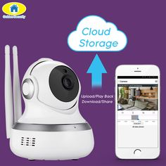 Golden Security Home wireless intelligent IP Camera wifi surveillance cameras mobile phone remote monitor camera. Click visit to buy