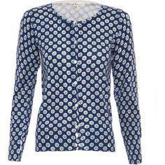 Uttam Boutique Daisy print cotton cardigan