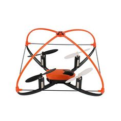 Arshiner XT-001A Mini Drone Flyer 2.4G 4CH 6-axis RC Quadcopter avec LEDs – Fonction Réinitialisation / Dispositif de Protection / Mode de…