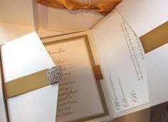 invitaciones para boda de oro - Google Search