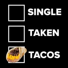 Relationship status?  Show us your love for Taco Palenque  ¿Situación sentimental?  Demuéstranos tu amor por #TacoPalenque