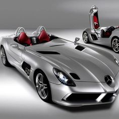 The Beautifully outrageous Mercedes SLR Stirling Moss