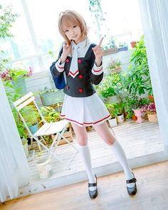 Cute #CardCaptorSakura #cosplay @tuna_cosplayer #sakuracardcaptor #clearcard  #SakuraKinomoto