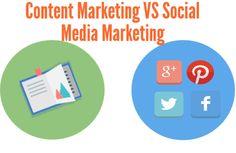 Non !! le content marketing ce n'est pas du social media marketing : 3 différences majeures #content #contentmarketing #socialmedia #marketing