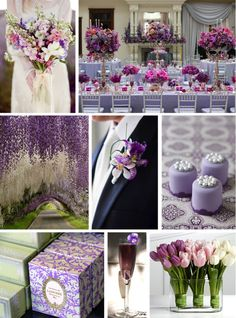 RADIANT ORCHID, VIOLET TULIP & HEMLOCK MOODBOARD Zouch & Lamare Ltd www.zouchandlamare.com Pantone Fashion Color Report Spring 2014 #purple #green