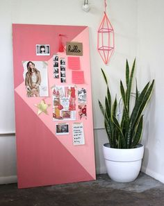 diy deco chambre ado fille a cool motivation rose collages photos Deco Cool, Sala Grande, Inspiration Boards, Creative Inspiration, Bed Design, Beautiful Mess, Girl Room, Decoration, Diys