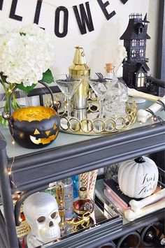 Oct 4 Easy And Spooky Halloween Decorating Ideas Halloween Dinner Halloween Dinner, Halloween Drinks, Happy Halloween, Battery Candles, Spooky Halloween Decorations, My Themes, Playing Dress Up, Table Decorations, Decorating Ideas