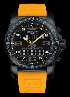 Cockpit B50 Night Mission - Breitling - Instruments for Professionals #BreitlingForMen