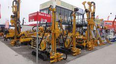 micropiles, anchors or diagnostic drilling rigs - macchine perforatrici per micropali, ancoraggi o sondaggi (Bauma 2013 - München; Fabrizio Panella)