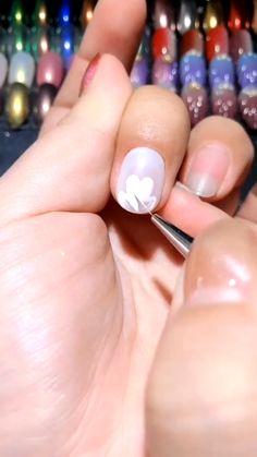 Diy Acrylic Nails, Gel Nail Art, Nail Art Diy, Acrylic Nail Designs, Gel Nails, Manicure, Stiletto Nails, Cartoon Nail Designs, Nail Art Designs Videos