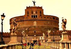 Castel Sant' Angelo.  The Mausoleum of Hadrian.