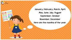 Months of the Year Rhymes for Kids - Ira Parenting List Of Months, Months In A Year, Rhymes Lyrics, Rhymes For Kids, Family Guy, Parenting, Children, Rhymes For Children, Young Children