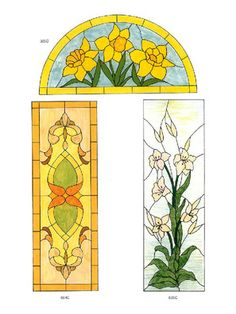 page7Dover's door stained glass patterns