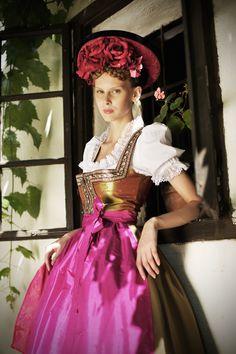 Details to inspire the girls' dresses. I love dirndls!
